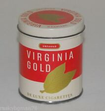Virginia Gold cigarette tin