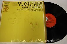 Eleanor Steber Leontyne Samuel Barber Knoxville Summer LP (VG) 12""