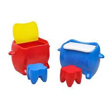 Tavolino gioco per bambini PVC Cm. 44 x 85 x 55 (sgabelli non inclusi)