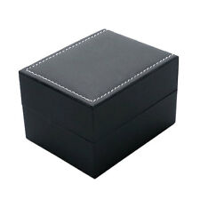 Black Wrist Watch Box 100*80*65mm Xmas Gift Box Case Storage Bracelet Bangle New