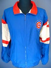 Vintage 90'S Chicago Cubs Starter Jacket Windbreaker Men's Size Large Warm Up