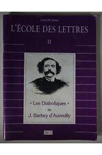 J. BARBEY D'AUREVILLY - LES DIABOLIQUES