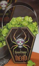 Day of the Dead Coffin Halloween Treat Bag Wrap Kit 4 ct from Wilton #0452 - NEW