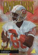 Jerry Rice - 1995 Pinnacle Gamebreakers 12 (of 15) - w/ Hard Case