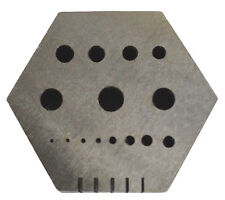 Hexagon Anvil Jewelry Making Tool Shaping Forming Wire Riveting