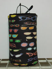 Retro Vintage Eye glass Fabric Eye Glass Holder Stand up on Desk Counter Gift