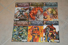 Lot 6 albums MARVEL HEROES série Fear Itself n°11 12 13 14 15 16 - Panini Comics