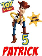 Toy Story Woody  custom TSHIRT Birthday party gift  Personalize Name and Age