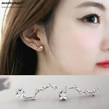Silver Filled Crawler Climber Ear Cuff Star Earrings Jewellery Online Women Girl