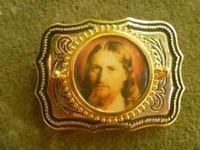 Famous Picture of JESUS on a Belt Buckle   Made in U.S.A.