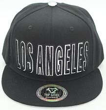 LOS ANGELES CITY SNAPBACK REFLECTIVE EMBROIDERY HIGH QUALITY CAP HAT 100% COTTON