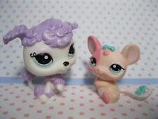 Littlest Pet Shop Blythe Doll Prettiest in Pearls POODLE & MOUSE