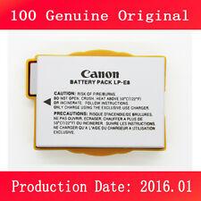 100% New Genuine LP-E8  Battery for Canon EOS 550D 600D 650D 700D X4 X7i T3i T5i