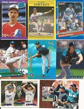 1989 89 Donruss Randy Johnson RC Expos Seattle Mariners Diamondbacks Lot HOF