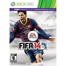 XBOX 360 FIFA 14 Video Game Multi-player Soccer Tournament 2014 Kinect Sensor