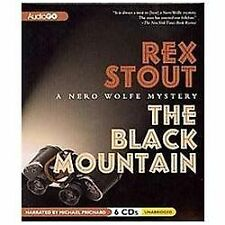 The Black Mountain : A Nero Wolfe Mystery by Rex Stout (2011, CD)