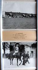 2 PHOTOS COURSE CHEVAUX 1955 L'INTIMÉ MONTÉ DEFORGE LONGCHAMP PRIX DU CONNÉTABLE