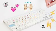 Teclado de silicona teclado cubierta emoji Apple Macbook Pro Air Teclado Y Software