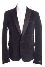 RRP €300 DIESEL Size L Men's J-AMEDEE Peak Lapel Corduroy Blazer Jacket - POPPRI