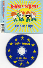 "KATRINA AND THE WAVES ""LOVE SHINE A LIGHT"" ULTRA RARE CD MAXI"