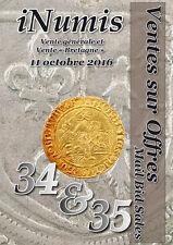 Catalogue VSO Inumis 34-35 du 11/10/2016 et prix réalisés