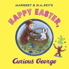 HAPPY EASTER CURIOUS GEORGE H.A. Rey NEW children's picture book hardcover
