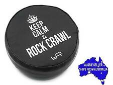 """1:10 RC Tyre tire cover for 1.9 Crawler wheels - """"Keep Calm...."""" may suit Axial"""