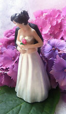 Wedding cake topper Decoration FIGURINE SPOSI ROSE