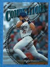 1997 Topps Finest Silver MIKE PIAZZA (ex-mt) card #292