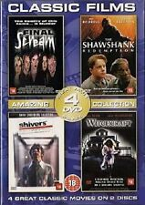 The Shawshank Redemption; Shivers; Final Scream; Witchcraft DVD
