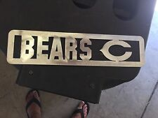 Plasma Cut Bears Plaque metal Sign mancave Garage/Wall Decor
