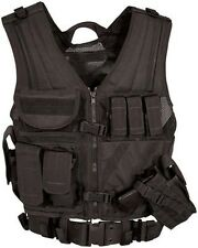 Condor Crossdraw Tactical Vest Medium/Large Black CV-002