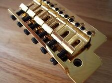 GENUINE FENDER GOLD STRATOCASTER Mexican TREMOLO BRIDGE Great For Standard Strat