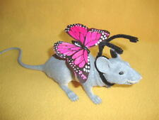 Pink Butterfly Costume Rat from Petrats