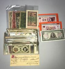 Deluxe Collector Bank Note Lot World, South America, Asia, Middle East Currency