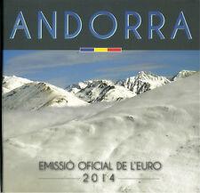 (ANLF) ANDORRA | ANDORRE LEERER FOLDER OHNE 1 CENT - 2 EURO KMS 2014 BU | ST