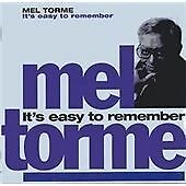 Mel Tormé - It's Easy to Remember (2000) 2CDS