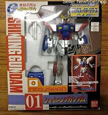 Bandai DX Hyper Mobile Suits G God Shinning Gundam Neo Japan #01 Vintage