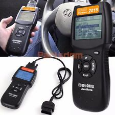 2016 D900 OBDII OBD2 CAN Auto Fault Code Reader Engine Diagnostic Scanner Tester