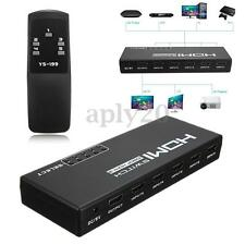 5-Port 1080P HDMI Switch Switcher Selector Splitter +Remote For PS3 HDTV DVD STB