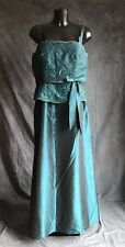 Party Prom Evening Cocktail Dress By Dollar Uk 2XL Coral Green
