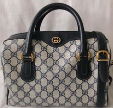 Vintage Monogram GUCCI Speedy Satchel Crossbody Handbag