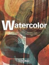 Watercolor (Creative Techniques), , New Book