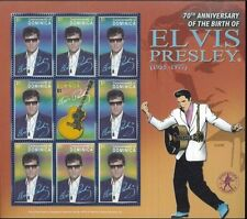 ELVIS PRESLEY #2538 Commemorative Sheet of 9 MNH - Dominica E52