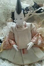 Antique Gofun Doll Male Ningyo Japanese Japan Asian Dolls Collectors