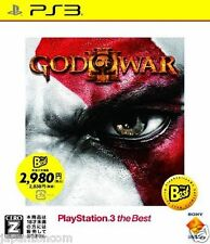 Used PS3 God of War III  PLAYSTATION 3 JAPAN JAPANESE IMPORT