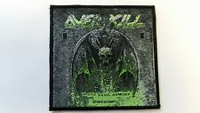 OVER KILL  WHITE DEVIL ARMORY  WOVEN  PATCH