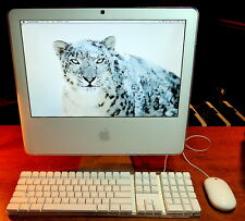 Apple iMac A1195 Core/Duo 1400 1.83GHz 160GB 2.GB DVD/RW Apple OS X Snow Leopard