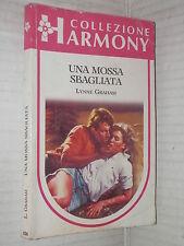 UNA MOSSA SBAGLIATA Lynne Graham Harlequin Mondadori Harmony 630 1990 romanzo di