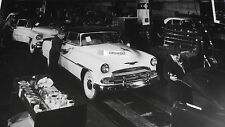 """1951 Chevrolet Assembly Line 12X18"""" Black & White Picture"""